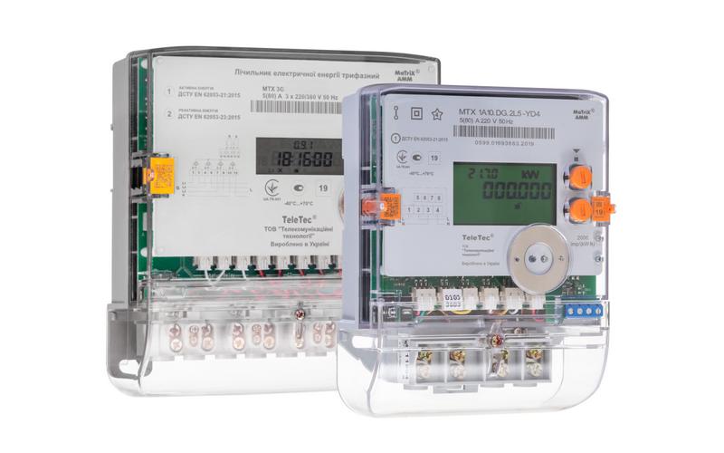 Лічильники електроенергії МТХ – нові моделі 2019 року